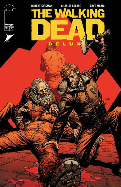The Walking Dead Deluxe #21 - 18/08/21 - Skybound Comic
