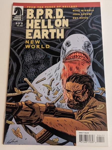 BPRD Hell On Earth #4 - New World - 2010 - Dark Horse Comic - VG