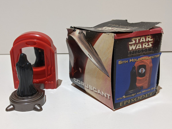 Star Wars Episode I The Phantom Menace - Sith Holoprojector - 1999 - Tricon Global Restaurants, Inc - FR