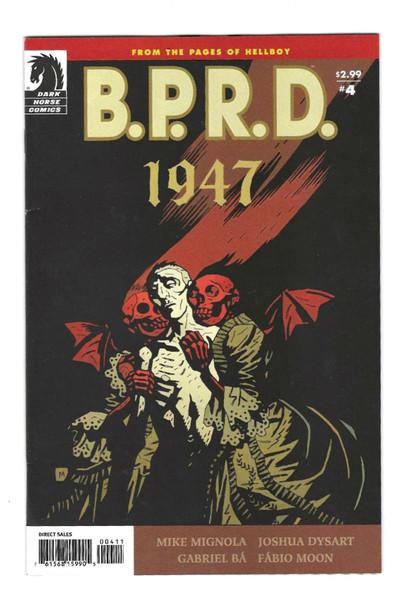 B.P.R.D: 1947 #4 - 2009 - Dark Horse Comic - VG