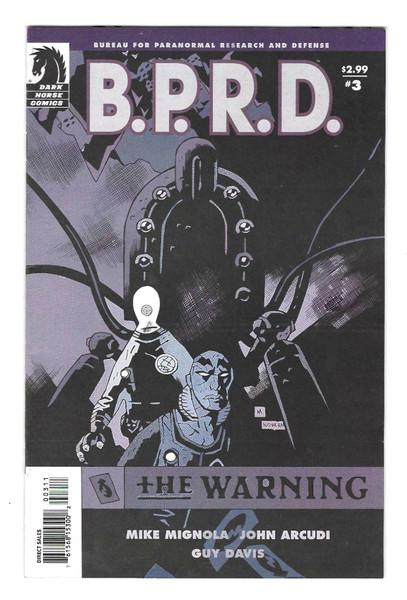 B.P.R.D #3 - 2009 - Dark Horse Comic - VG