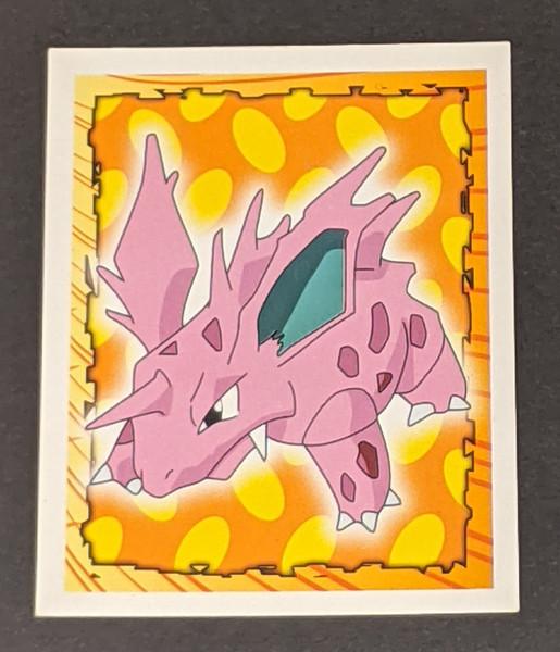 Nidorino Pokemon Sticker - 1999 - Merlin