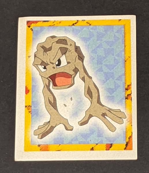 Geodude Pokemon Sticker - 1999 - Merlin
