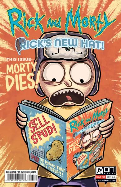 Rick and Morty: Rick's New Hat #4 - 15/09/21 - Oni Press Comic