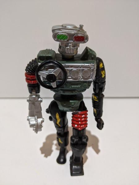 Crash Test Dummies Sideswipe Action Figure - 1992 - Tyco - VG