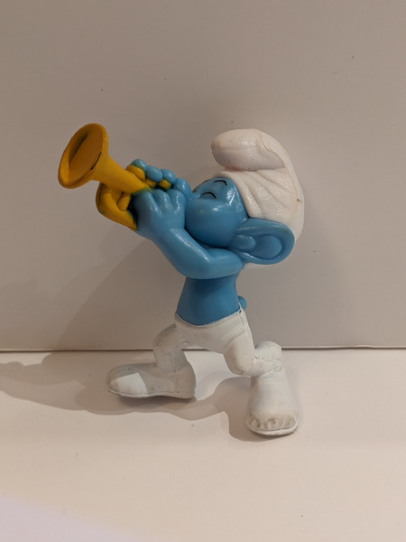 The Smurfs Harmony Figure - 2013 - McDonalds - VG
