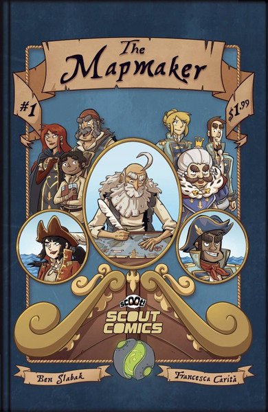 Mapmaker #1 - Scout Comic -Released 3rd Febuary 2021