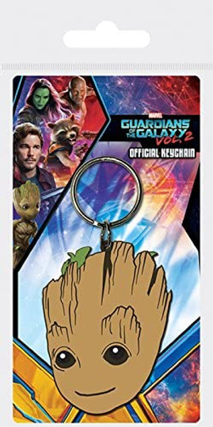 Baby Groot Rubber Keyring - Guardians Of The Galaxy Vol 2