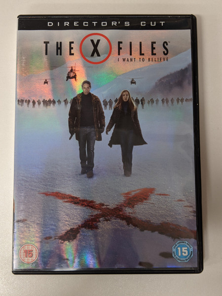 The X-Files: I Want To Believe: Director's Cut - 2008 - Fox DVD - GD
