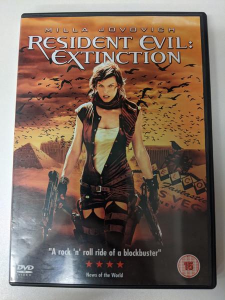 Resident Evil: Extinction - 2008 - Sony - GD