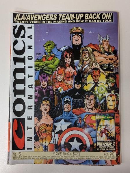 Comics International #132 - 2001 - Quality Communications - VG
