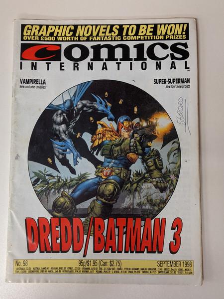 Comics International #98 - 1998 - Quality Communications - VG