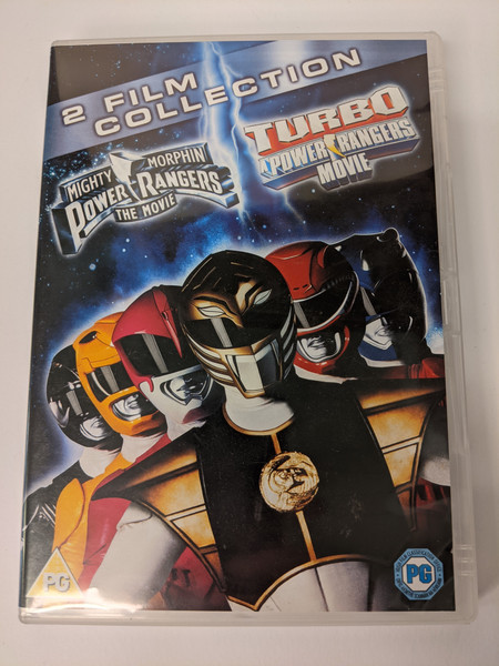 Mighty Morphin Power Rangers The Movie/Turbo: A Power Rangers Movie Double Pack - 2013 - 20th Century Fox - GD