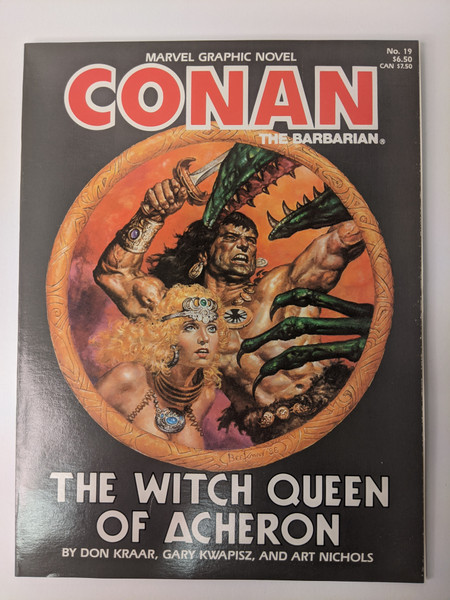 Conan The Barbarian: The Witch Queen Of Acheron - 1985 - Marvel - VG