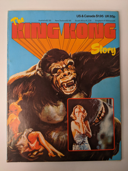 The King Kong Story - 1976 - Phoebus Paperback - VG