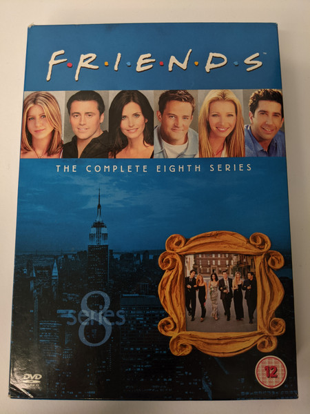 Friends: Complete Season 8 Box Set - 2004 - Warner Home Video - GD