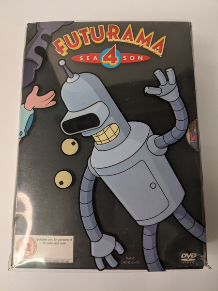 Futurama: Season 4 Box Set - 2004 - 20th Century Fox - GD