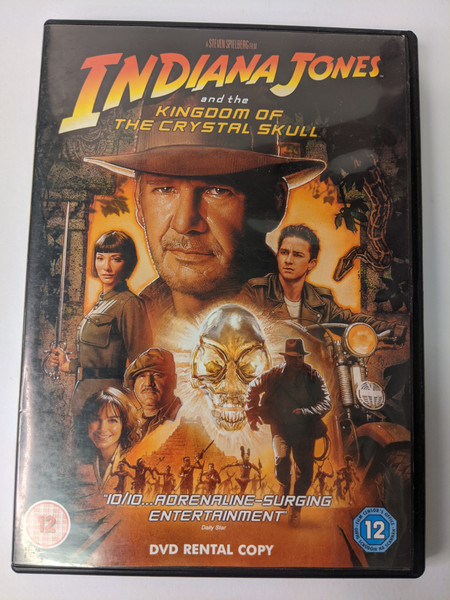 Indiana Jones And The Kingdom Of The Crystal Skull - 2008 - Paramount Home Entertainment - GD