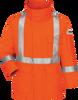 Bulwark Flame Resistant ComforTouch® Parka CSA Compliant Reflective Striping JLPSOR  -  34 calories/cm²