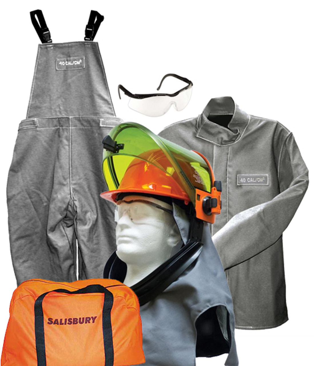 c9a61437d613 Salisbury 40 Cal Arc Flash Protection With Jacket