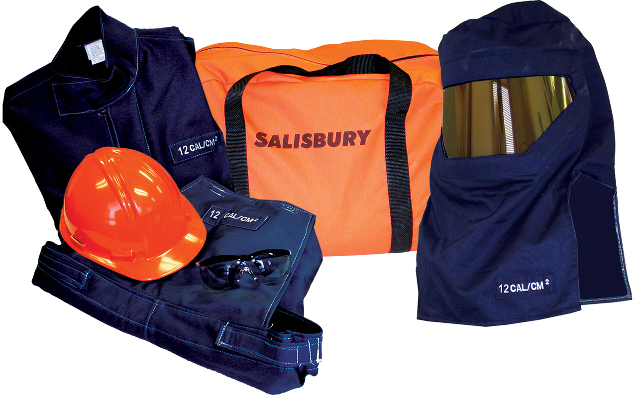 12 cal/cm2 Salisbury by Honeywell Arc Flash protection Premium Coverall  Kits - SK11