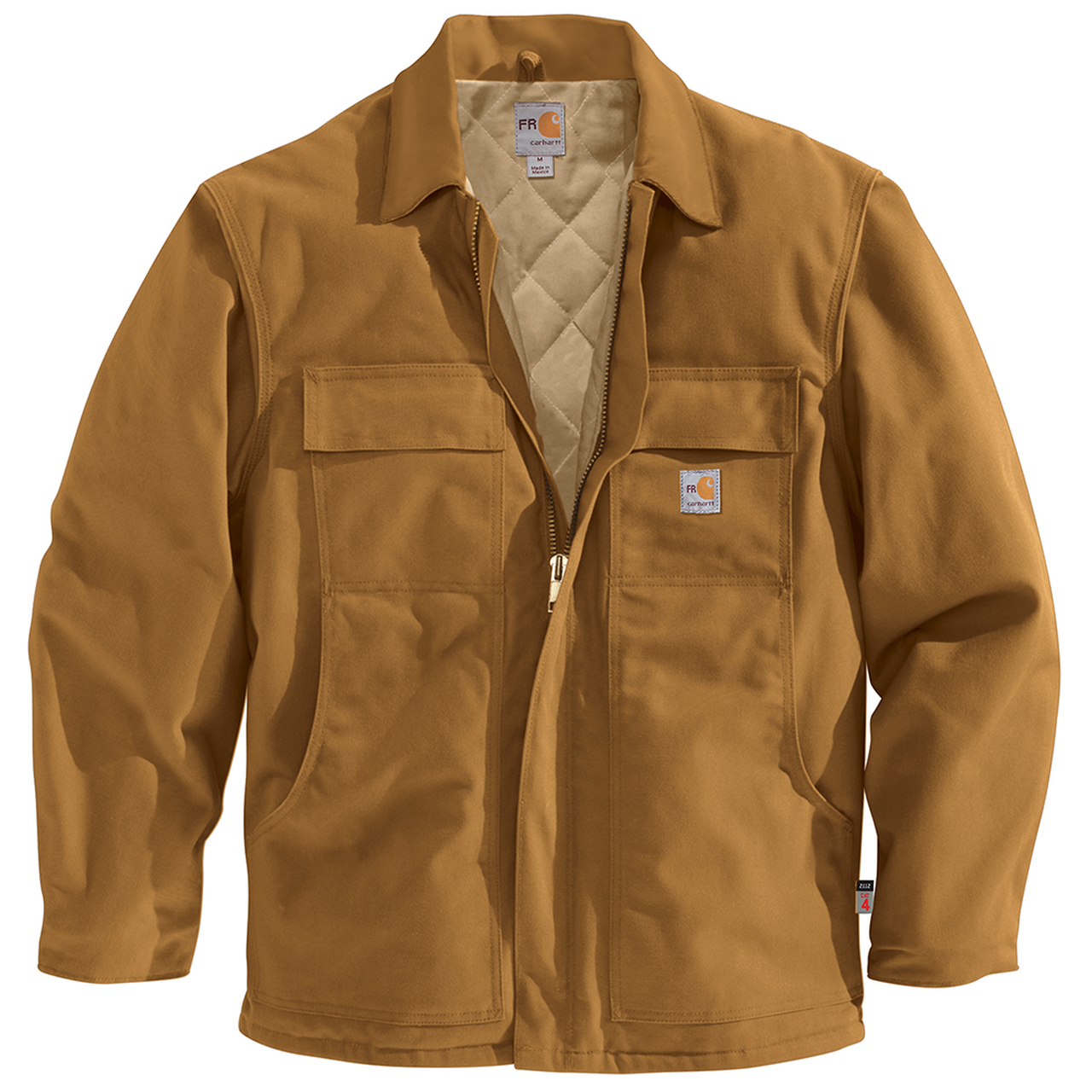 57519f8b6e2d Carhartt 54 cal cm2 Men s Flame Resistant Duck Traditional Coat ...