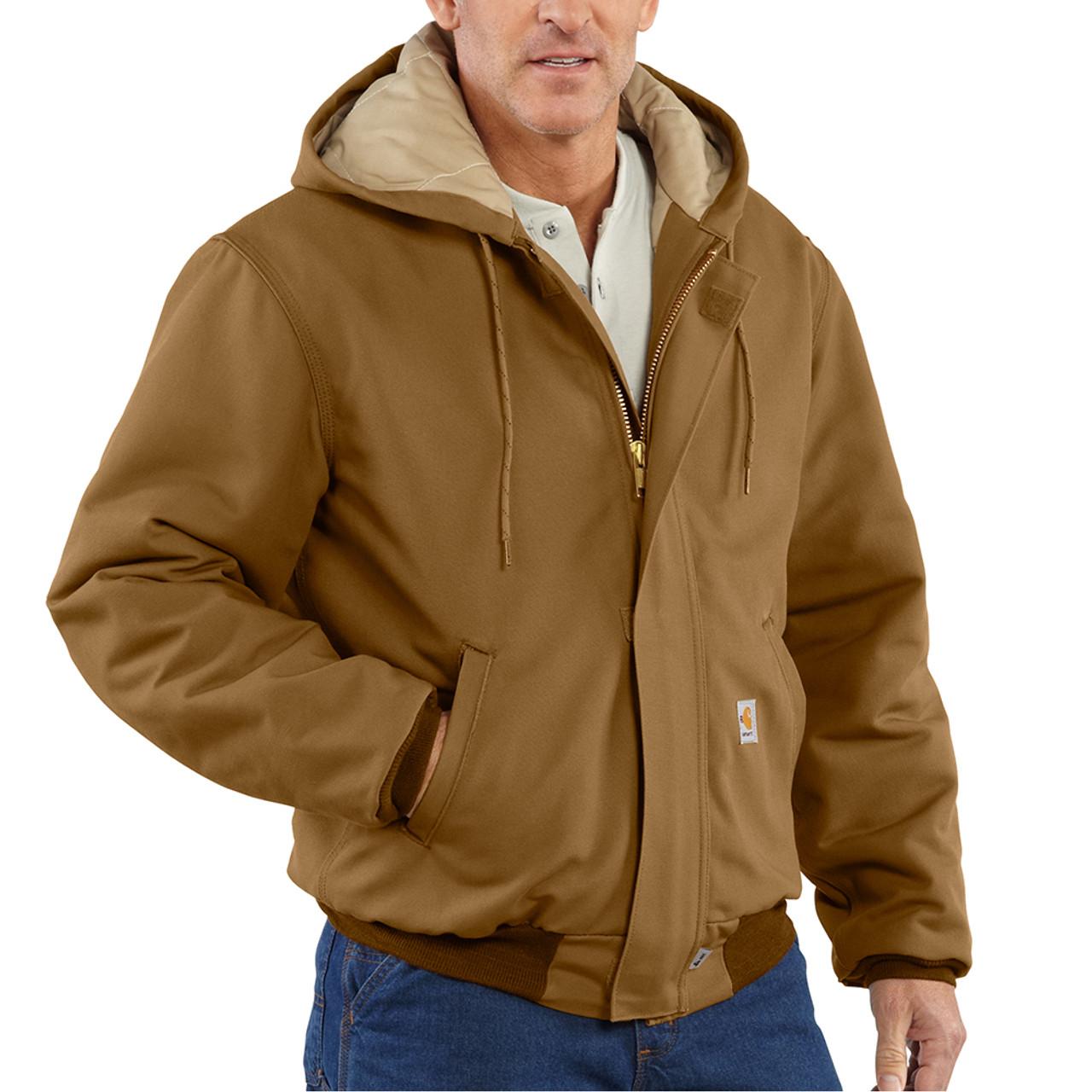 d79e92fd54 ... Carhartt 54 cal/cm2 Men's Flame Resistant Duck Active Jacket - 101621  ...