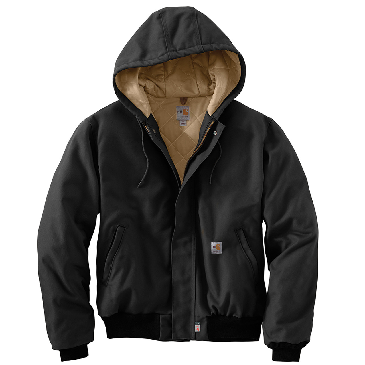 6d01d9d965 Carhartt 54 cal/cm2 Men's Flame Resistant Duck Active Jacket ...