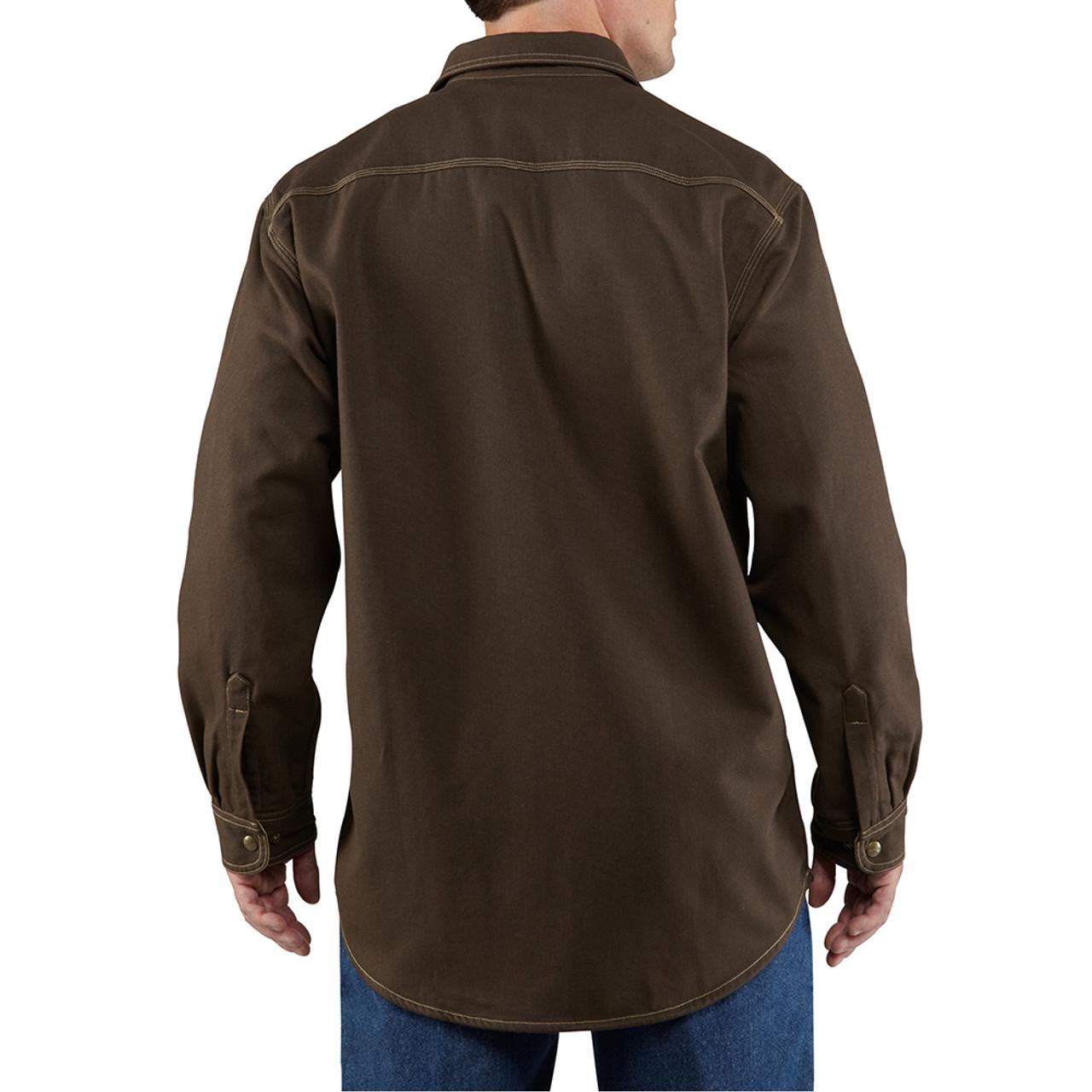 24645952a0b 100432 Men s Flame Resistant Canvas Shirt Jacket