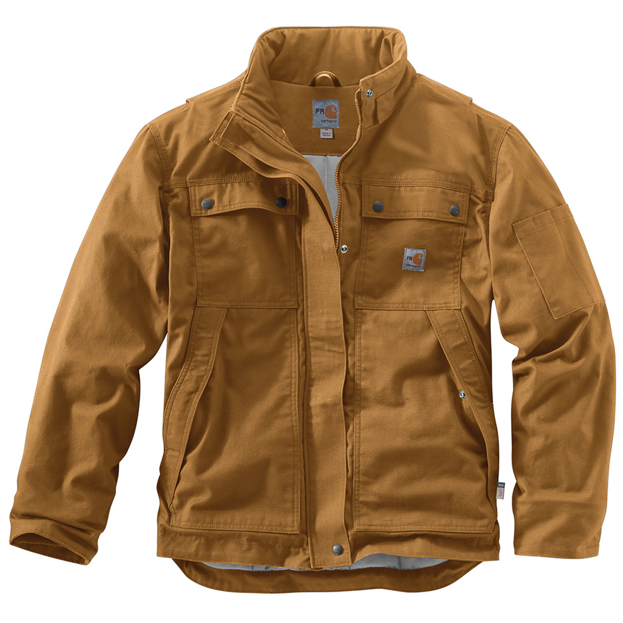 Caterpillar Mens Big and Tall Flame Resistant Insulated Jacket