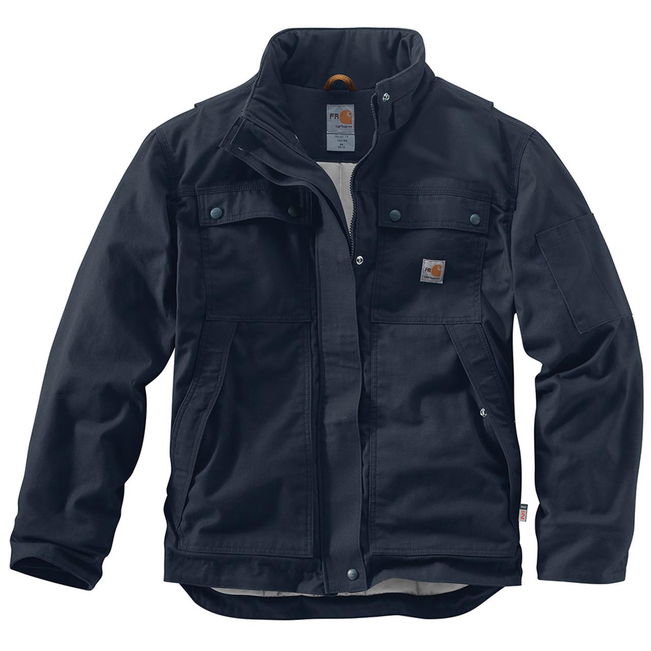 8969c52b5aa4 102182 Men s Flame Resistant Full Swing Quick Duck Coat