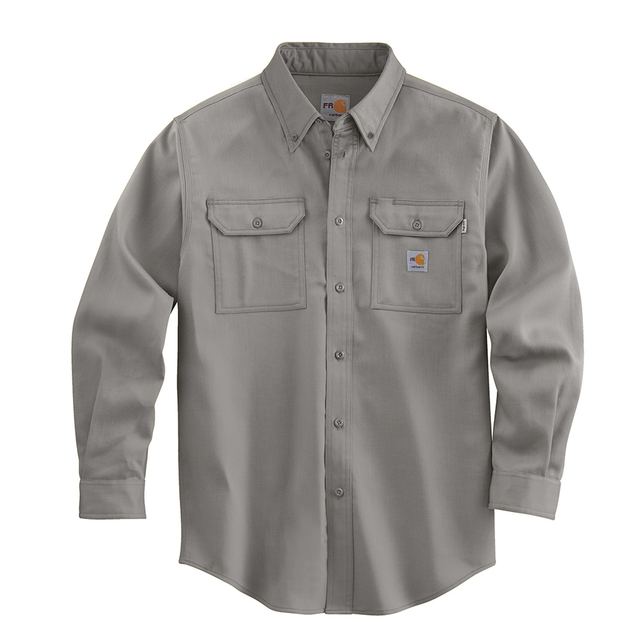92fbbe0342f FRS003 Men s Flame Resistant Lightweight Twill Shirt