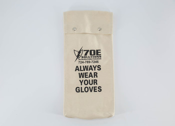 "70E Solutions Canvas Glove Bag For 14"" Glove Lengths (Gloves Not Included)"