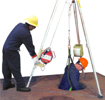 Miller Confined Space and Rescue System ## MR50GCM-Z7/50FT ##
