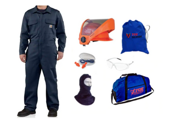 70E Solutions 10 cal/cm² Coverall Kit with AS1000HAT Faceshield ## 70EKIT-12NB10 ##