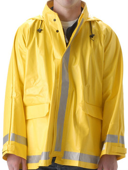 Nasco Arclite High Visibility 1000 - Rain Jacket - Yellow ## 1103JY ##