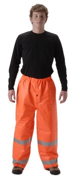 Nasco Arclite High Visibility 1500 - Elastic Waist Pants - Fluorescent Orange ## 1501PFO ##