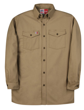 Big Bill 7 Oz. Ultra Soft Dress Uniform Shirt - 8.7 cal/cm²