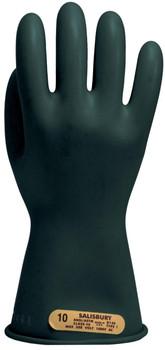 "Salisbury Class 00 Gloves 11"" Length 500 VAC. Black  ## E0011B ##"