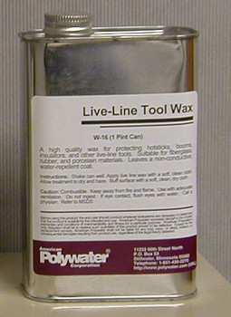 16-Oz Fast-Hazing Fiberglass Wax ## W-16 ##