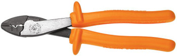 "Klein Insulated 9-3/4"" Crimping / Cutting Tool 1,000 V ## 1005-INS ##"