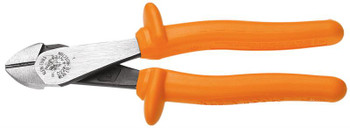 "Klein Diagonal-Cutting Pliers 8"" Insulated High-Leverage 1,000 V ## D228-8-INS ##"