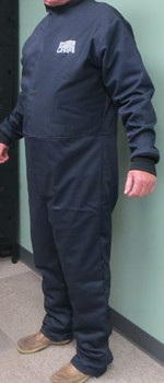 CPA 43 cal/cm² 12 oz UltraSoft Navy over 5.5 oz UltraSoft Grey Switchpullers Coveralls ## SW-605-43 ##