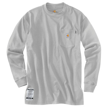 01ecfc8f9903c0 100235 ## 100235 Men's Flame Resistant Force Cotton Long Sleeve T-Shirt
