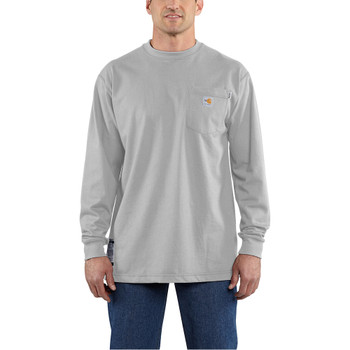 100235 Men's Flame Resistant Force Cotton Long Sleeve T-Shirt