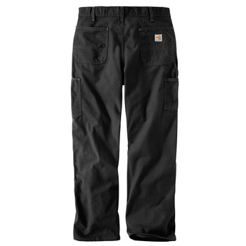100791 Men's Flame Resistant Washed Duck Work Dungaree