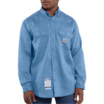 FRS003 Men's Flame Resistant Lightweight Twill Shirt