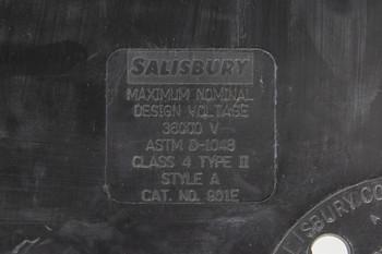Class 4 Salisbury 901E Insulated Blanket 36X36 Eyelet-6 36,000VAC