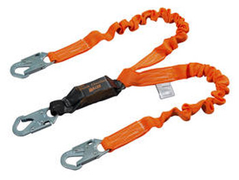 Miller Titan II Stretch Pack-Type Shock-Absorbing Lanyards