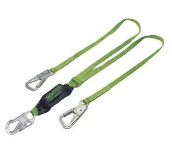 Miller BackBiter Dual Leg Tie-Back Lanyard